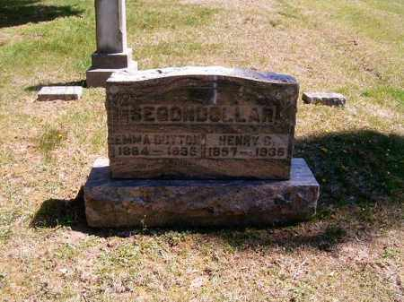 DUTTON SEGONDOLLAR, EMMA - Brown County, Ohio | EMMA DUTTON SEGONDOLLAR - Ohio Gravestone Photos
