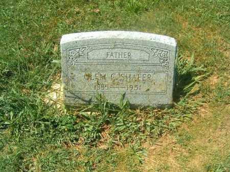 SHAFER, CLEM  C - Brown County, Ohio | CLEM  C SHAFER - Ohio Gravestone Photos