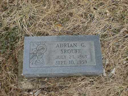 SROUFE, ADRAIN G - Brown County, Ohio | ADRAIN G SROUFE - Ohio Gravestone Photos