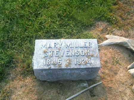 MILLER STEVENSON, MARY - Brown County, Ohio | MARY MILLER STEVENSON - Ohio Gravestone Photos