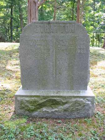 STRATTON, MELISSA - Brown County, Ohio | MELISSA STRATTON - Ohio Gravestone Photos
