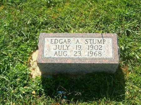 STUMP, EDGAR    A - Brown County, Ohio | EDGAR    A STUMP - Ohio Gravestone Photos