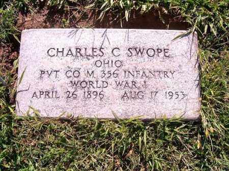 SWOPE, CHARLES   C - Brown County, Ohio | CHARLES   C SWOPE - Ohio Gravestone Photos