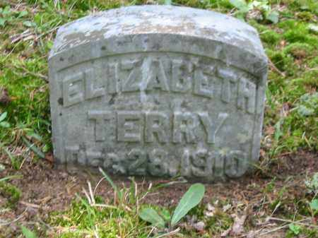 TERRY, ELIZABETH - Brown County, Ohio   ELIZABETH TERRY - Ohio Gravestone Photos