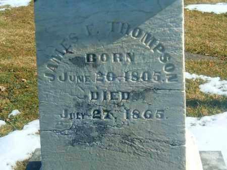 THOMPSON, JAMES  F - Brown County, Ohio | JAMES  F THOMPSON - Ohio Gravestone Photos