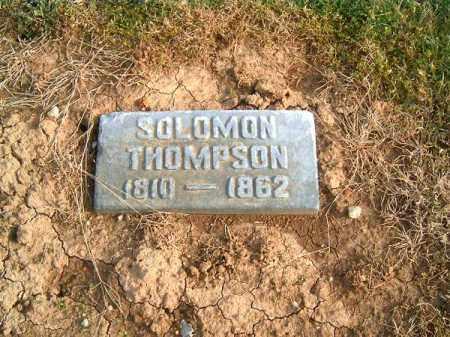 THOMPSON, SOLOMON - Brown County, Ohio   SOLOMON THOMPSON - Ohio Gravestone Photos