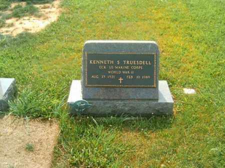 TRUESDELL, KENNETH  S - Brown County, Ohio | KENNETH  S TRUESDELL - Ohio Gravestone Photos