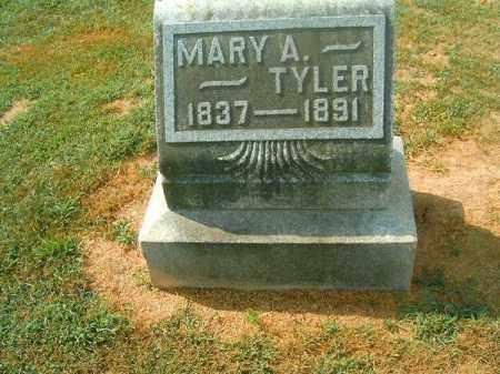 TYLER, MARY  A - Brown County, Ohio | MARY  A TYLER - Ohio Gravestone Photos