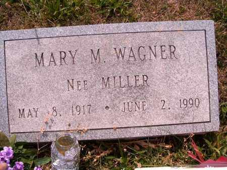MILLER WAGNER, MARY  M - Brown County, Ohio | MARY  M MILLER WAGNER - Ohio Gravestone Photos
