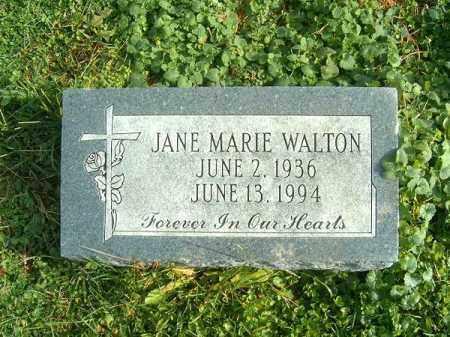 WALTON, JANE  MARIE - Brown County, Ohio | JANE  MARIE WALTON - Ohio Gravestone Photos