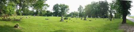 WARNER CEMETERY, PANORAMIC VIEW - Brown County, Ohio   PANORAMIC VIEW WARNER CEMETERY - Ohio Gravestone Photos