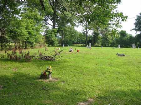 WARNER CEMETERY, VIEW 1- WESTNORTHWEST - Brown County, Ohio   VIEW 1- WESTNORTHWEST WARNER CEMETERY - Ohio Gravestone Photos