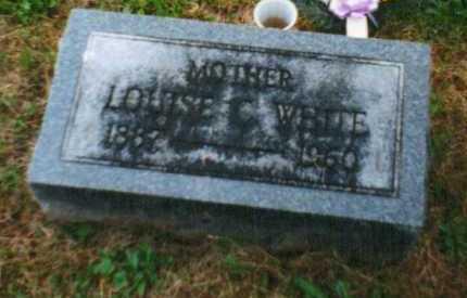 WHITE, LOUISE - Brown County, Ohio   LOUISE WHITE - Ohio Gravestone Photos