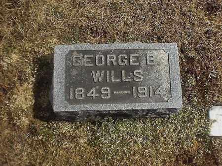 WILLS, GEORGE   B - Brown County, Ohio | GEORGE   B WILLS - Ohio Gravestone Photos