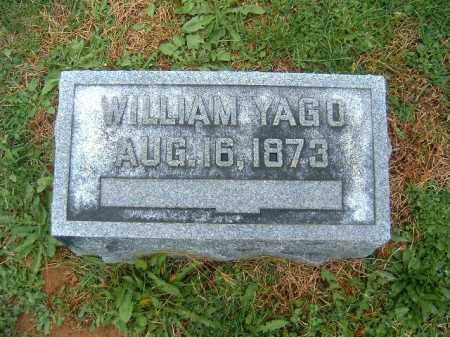 YAGO, WILLIAM - Brown County, Ohio | WILLIAM YAGO - Ohio Gravestone Photos