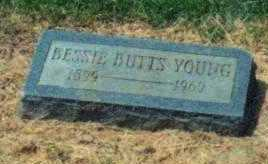 BUTTS YOUNG, BESSIE - Brown County, Ohio | BESSIE BUTTS YOUNG - Ohio Gravestone Photos