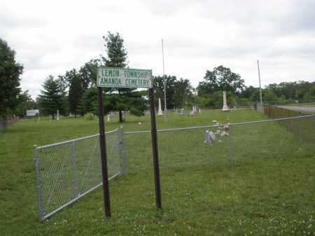 AMANDA, CEMETERY - Butler County, Ohio | CEMETERY AMANDA - Ohio Gravestone Photos
