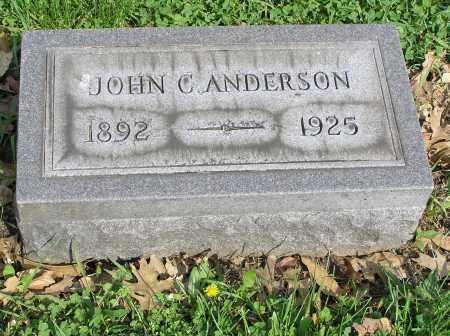 ANDERSON, JOHN C. - Butler County, Ohio | JOHN C. ANDERSON - Ohio Gravestone Photos