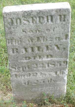 BAILEY, JOSEPH H. - Butler County, Ohio | JOSEPH H. BAILEY - Ohio Gravestone Photos