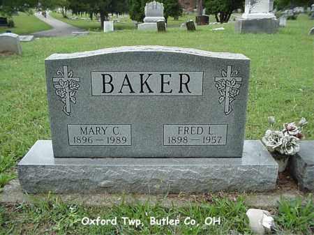 BAKER, MARY - Butler County, Ohio   MARY BAKER - Ohio Gravestone Photos