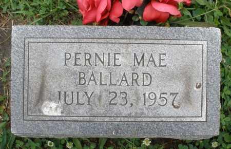 BALLARD, PERNIE MAE - Butler County, Ohio   PERNIE MAE BALLARD - Ohio Gravestone Photos