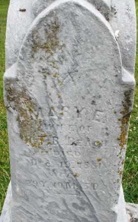 BEACH, MARY E. - Butler County, Ohio   MARY E. BEACH - Ohio Gravestone Photos