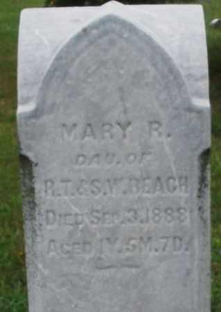 BEACH, MARY R. - Butler County, Ohio   MARY R. BEACH - Ohio Gravestone Photos