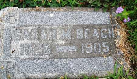BEACH, SARAH  M. - Butler County, Ohio | SARAH  M. BEACH - Ohio Gravestone Photos