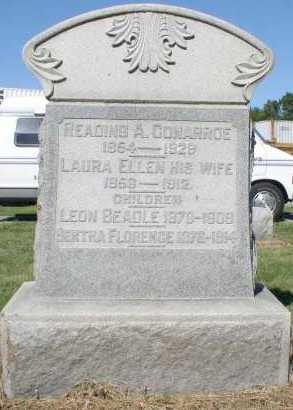 BEADIE OR BEADLE CONARROE, LAURA ELLEN - Butler County, Ohio | LAURA ELLEN BEADIE OR BEADLE CONARROE - Ohio Gravestone Photos