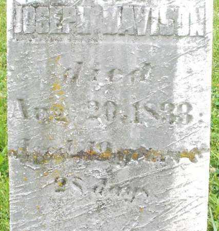 DAVISON, JOSEPH - Butler County, Ohio   JOSEPH DAVISON - Ohio Gravestone Photos