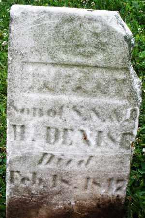 DENISE, INFANT SON - Butler County, Ohio | INFANT SON DENISE - Ohio Gravestone Photos