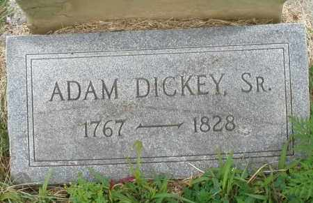 DICKEY, ADAM SR. - Butler County, Ohio   ADAM SR. DICKEY - Ohio Gravestone Photos