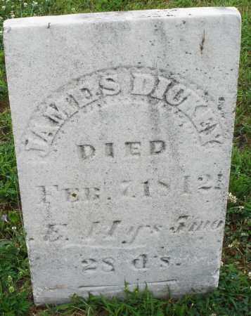 DICKEY, JAMES - Butler County, Ohio | JAMES DICKEY - Ohio Gravestone Photos