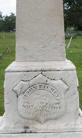 DICKEY, JOHN - Butler County, Ohio | JOHN DICKEY - Ohio Gravestone Photos
