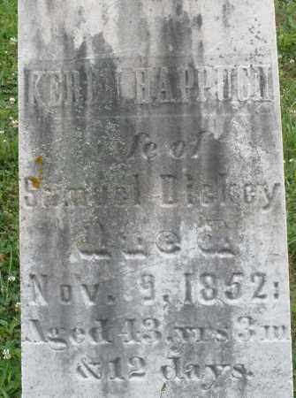 HAPPUCH DICKEY, KEREN - Butler County, Ohio | KEREN HAPPUCH DICKEY - Ohio Gravestone Photos