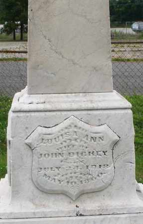 DICKEY, LOUISA ANN - Butler County, Ohio   LOUISA ANN DICKEY - Ohio Gravestone Photos