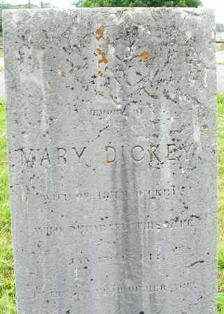 DICKEY, MARY - Butler County, Ohio   MARY DICKEY - Ohio Gravestone Photos