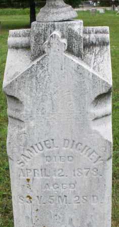 DICKEY, SAMUEL - Butler County, Ohio | SAMUEL DICKEY - Ohio Gravestone Photos