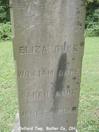 DUKE, WILLIAM - Butler County, Ohio | WILLIAM DUKE - Ohio Gravestone Photos