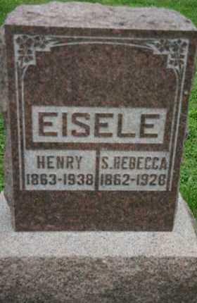 BELL EISELE, SUSAN REBECCA - Butler County, Ohio   SUSAN REBECCA BELL EISELE - Ohio Gravestone Photos