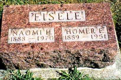 EISELE, HOMER EVERETT - Butler County, Ohio | HOMER EVERETT EISELE - Ohio Gravestone Photos