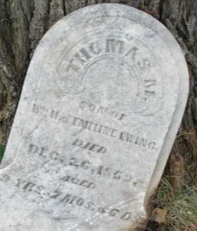 EWING, THOMAS - Butler County, Ohio | THOMAS EWING - Ohio Gravestone Photos