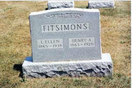 FITSIMONS, L. ELLEN - Butler County, Ohio | L. ELLEN FITSIMONS - Ohio Gravestone Photos