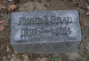 GRAU, ROSIE I. - Butler County, Ohio | ROSIE I. GRAU - Ohio Gravestone Photos