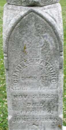 HARDING, CHARLES - Butler County, Ohio   CHARLES HARDING - Ohio Gravestone Photos