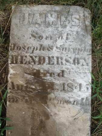 HENDERSON, JAMES - Butler County, Ohio | JAMES HENDERSON - Ohio Gravestone Photos