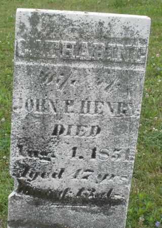 HENRY, CATHARINE - Butler County, Ohio | CATHARINE HENRY - Ohio Gravestone Photos
