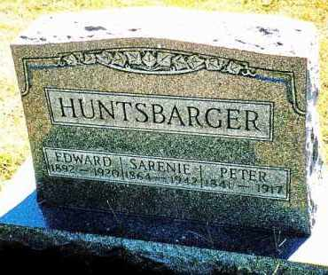 HUNTSBARGER, EDWARD - Butler County, Ohio | EDWARD HUNTSBARGER - Ohio Gravestone Photos