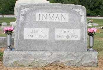 KELLER INMAN, LELA - Butler County, Ohio | LELA KELLER INMAN - Ohio Gravestone Photos