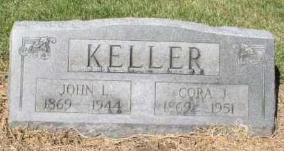 KELLER, CORA JANE - Butler County, Ohio | CORA JANE KELLER - Ohio Gravestone Photos